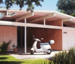 Eichler With Vespa