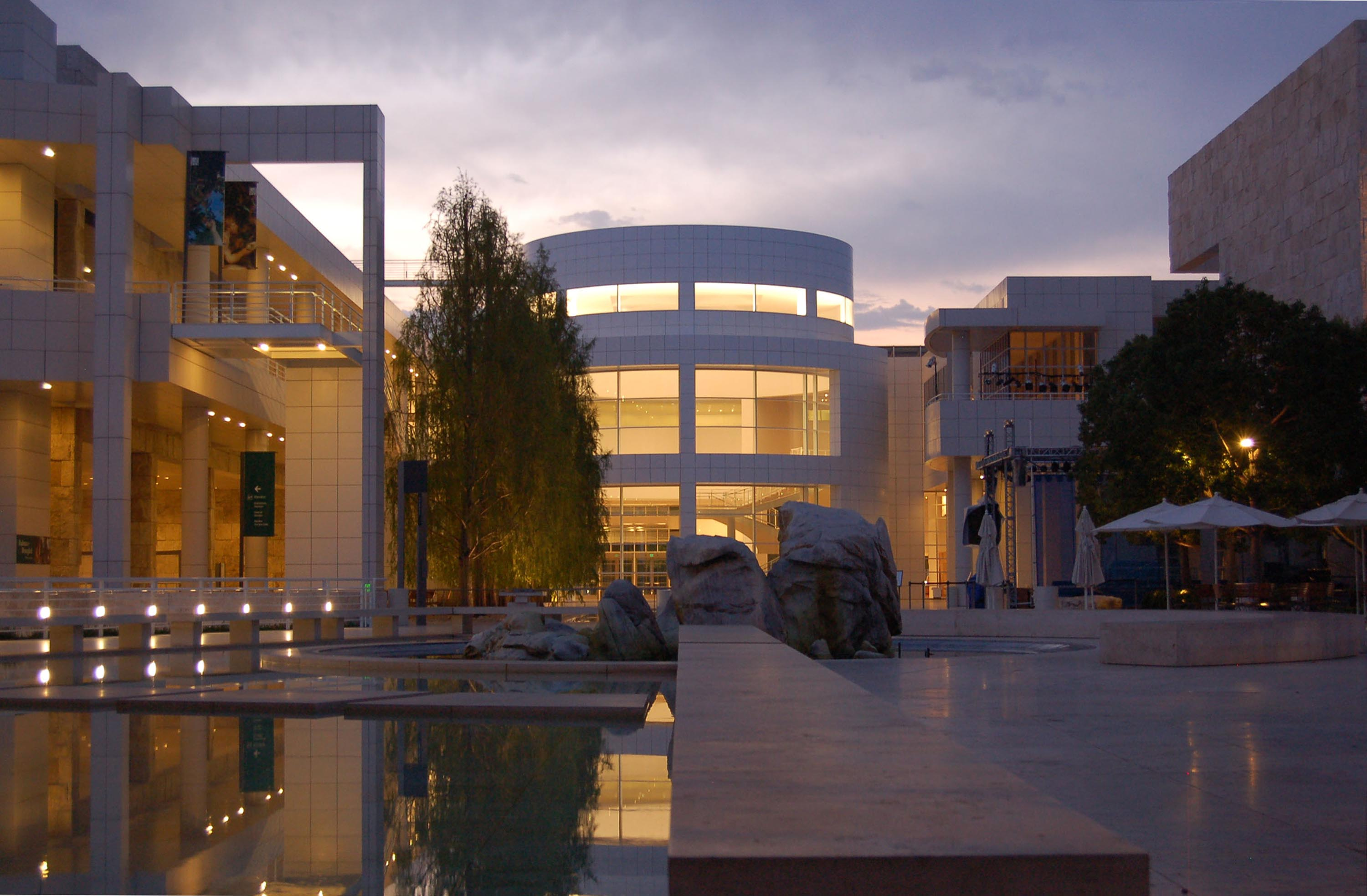 The Getty Center. Photo Courtesy Richard Meier & Partners Architects
